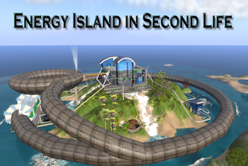 Energy Island in Second Life