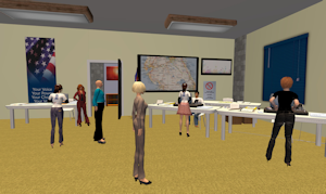 Poll Worker Training in Second Life