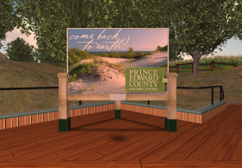Prince Edward County in Second Life