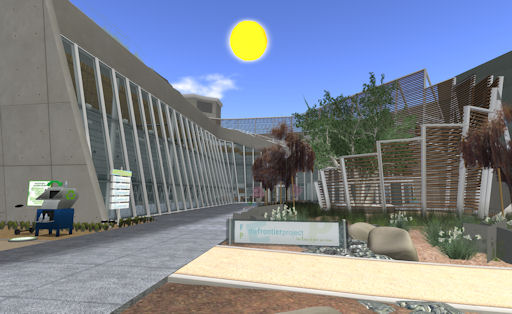 The Frontier Project in Second Life