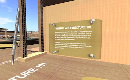 Virtual Architecture 101